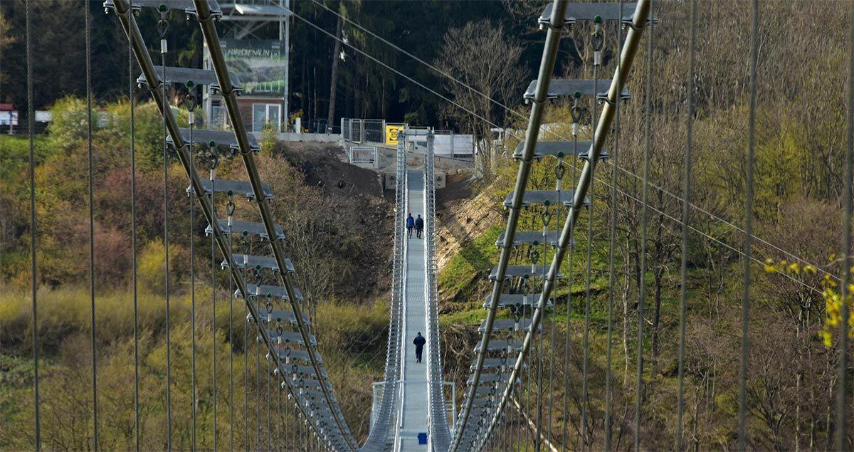 Falkner Maschinenbau Hängebrücke Rappode